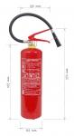 Přenosný hasicí přístroj práškový 4 kg