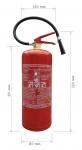 Přenosný hasicí přístroj práškový 9 kg