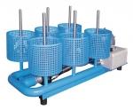 Stacionární sušicí zařízení se 6 přípojkami, model TR-K-6