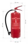 Přenosný hasicí přístroj práškový P6 BETA Z class D