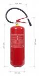 Přenosný hasicí přístroj práškový 9kg - třída požáru D