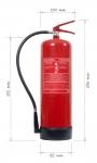 Přenosný hasicí přístroj práškový 12kg - třída požáru D