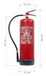 Přenosný hasicí přístroj práškový 12 kg